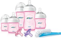 Philips AVENT Natural Baby Girl Gift Set Exclusive Avent
