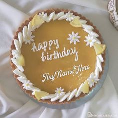 Birthday Wishes Fruit Cake With Your Name Birthday Cake Maker, Fruit Birthday Cake, Cool Birthday Cakes, Birthday Wishes With Name, Birthday Greetings, Cake Templates, Cake Name, Cake Makers, Names