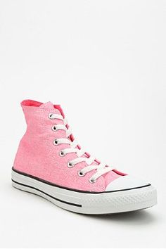 Converse Chuck Taylor All Star Washed PINK Neon High-Top Sneaker