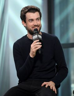 """Jack Whitehall Photos - Jack Whitehall visits the Build series to discuss """"Jack Whitehall: Travels with My Father"""" at Build Studio on September 2017 in New York City. - Build Presents Jack Whitehall Discussing 'Jack Whitehall: Travels With My Father' English Comedians, Bad Education, Jack Whitehall, Actors Male, 2015 Movies, Celebs, Celebrities, My Father, Celebrity Crush"""