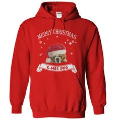 Merry Christmas With Pulldog - #gifts for boyfriend #gift certificate. TRY => https://www.sunfrog.com/Christmas/Merry-Christmas-With-Pulldog-Red-5880217-Hoodie.html?68278