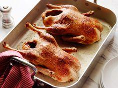 Roast Duck from Ina Garten.