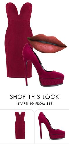 """""""Beryl"""" by tokyohouseparty on Polyvore featuring WithChic and Casadei"""