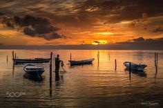 The Fisherman - null My Photos, Celestial, Explore, Sunset, Outdoor, Outdoors, Sunsets, Outdoor Games, The Great Outdoors