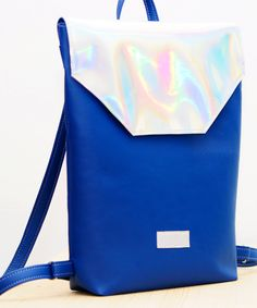 Hey Sailor - holographic backpack