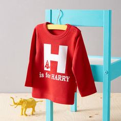 Personalised Alphabet T Shirt