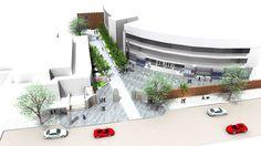 STADIUM LANDSCAPE DESIGN - CONCEPT Landscape Architects London