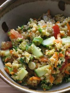 An Urban Cottage: Tabouli Recipe - had this for dinner - amazing!