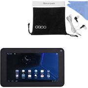 "Double Power 7"" Dual Core Tablet with 8GB Memory, 1024x600 Hi Res HD screen and Bonus Kit"