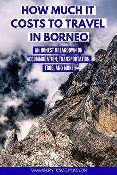 The Cost of Travel in Malaysian Borneo Borneo Travel, Bali Travel, Malaysia Travel, Visit Maldives, Maldives Travel, Mount Kinabalu, Thai Islands, Amazing Destinations, Travel Destinations