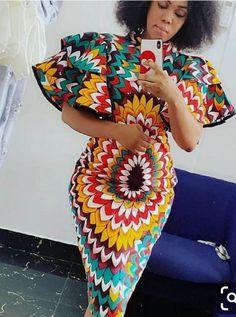 African women dress/African print dress/Ankara clothing for women African traditional wears/African shop - Africa fashion - Women African Fashion Ankara, African Inspired Fashion, Latest African Fashion Dresses, African Print Fashion, Africa Fashion, Short African Dresses, African Print Dresses, African Prints, African Traditional Wear