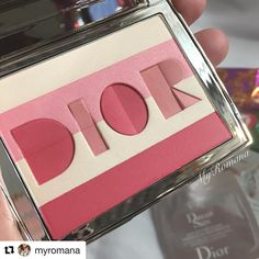 #Repost @myromana with @repostapp  @dior @diormakeup Origami Blush Palette 001 It arrived safe & sound from Japan along with some chocolates. Thank you @toshiyafukuma @fudejapan  Always a pleasure to deal with you. Fyi collective haul happening over on #snapchat. Goodies from US Korea and Malaysia. See you there! . . .  #dior #diorbeauty #luxurybeauty #makeupcollection #makeupjunkie #MyRomana #clozette