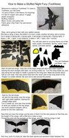 Stuffed Toothless Tutorial by ~Skylanth on deviantART