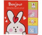 """Post-it et marque-pages Lapin """"Bonjour"""""""