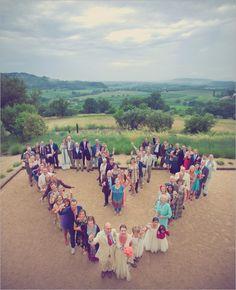 Fotografia dos convidados