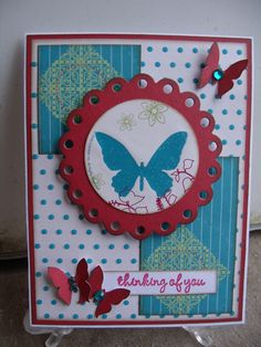 thinking of you by Lynn Weber!  Lynn, I love your cards!  You rock!