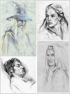 LOTR Characters - Part 3 by Callista1981 on DeviantArt