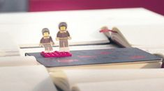 Bricks and blank pages. Moleskine meets LEGO.    more about MoleskinemeetsLEGO: http://bit.ly/shells_video