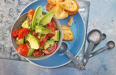 Avocado-Tomaten Salat
