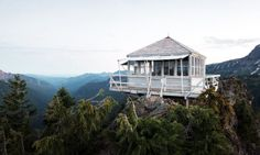 High above the forests across America there are special lookout towers that were constructed by the Civil Conservation Corps after the Great Fire of 1910 as an early warning system in an age before radios, aircraft and GPS. The lookouts are no longer used for their original purposes, but a few have …