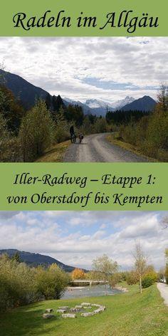 Iller-Radweg- Etappe 1: von Oberstdorf bis Kempten
