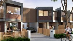 The NSW Minster for Planning and Housing has announced the winners of a national ideas competition to design medium-density housing. University Of South Australia, The Fifth Estate, Townhouse Exterior, Townhouse Designs, Social Housing, Design Competitions, Built Environment, Ground Floor, Facades