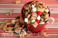Spice Gals: Peppermint Crunch Chex Mix