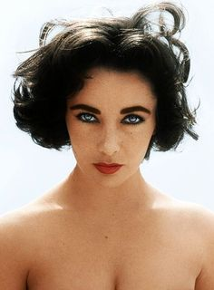 Elizabeth Taylor, 1956 -- So perfectly flawed. Larger than life, yet so very human.