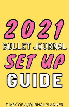 Whether you're a bujo pro or just a beginner, this bullet journal set up guide will teach you something new about starting a 2021 bullet journal! #bulletjournal #bulletjournalbeinners #bulletjournalsetup #startabulletjournal #bujo #planneraddicts