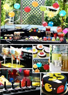 Pac Man Birthday Party Ideas | Photo 1 of 13 | Catch My Party