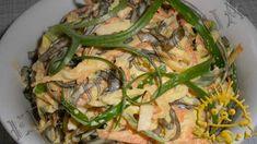 Кулинарный фото рецепт - Салат с морской капустой. Нажать для увеличения фотографии.