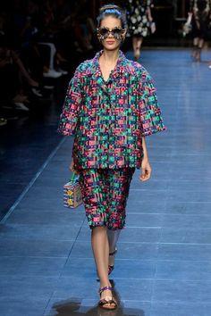 Dolce & Gabbana Spring Summer 2016 Collection