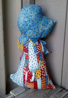 Holly Hobby Doll Pillow by robynsetsy on Etsy, $10.00