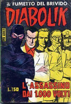 Le prime 24 copertine di Diabolik - Il Post