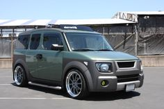 Green Movement (Green colored Es - post your pics here!!!) - Page 7 - Honda Element Owners Club Forum