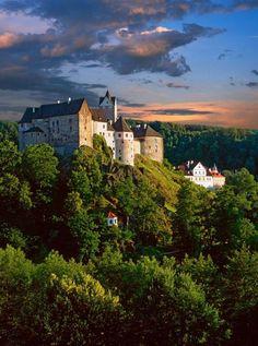 Loket castle (North-West Bohemia) Czechia #gothic #Czechia #castles
