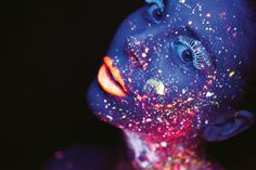 Creative photo ideas for January: 04 Shoot in ultraviolet