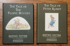 Lot-of-2-1987-Authorized-Editions-of-Peter-Rabbit-and-the-Flopsy-Bunnies