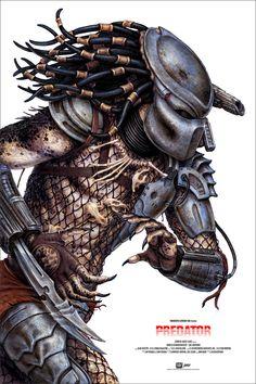 Predator Poster by N.C. Winters from Mondo (Onsale Info)
