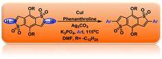 Regioselective copper-catalyzed direct arylation of benzodithiophene-S,S-tetraoxide DOI: 10.1039/C7CC01781B