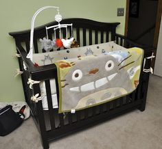 NakaKon: Totoro Bedding and Nursery Update