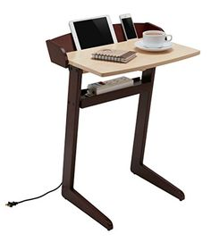 Laptop Desk / Computer Desk for Small Spaces / Laptop Stand in Espresso from Deskio - Great for iPad, iPhone, Mobile Phones, Computer Notebook. Create a Smart Workspace at Your Home & Office Now. Deskio http://www.amazon.com/dp/B011FK2AWE/ref=cm_sw_r_pi_dp_IEL1vb04HDJVX