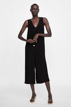 d762c2f2352158 SMALL Image 1 of BUTTONED JUMPSUIT from Zara Zara Women