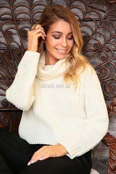 Lioness New World Turtleneck Knit in Cream $59.90  Lioness has brought us the New World Turtleneck Knit - a winter essential for all! It's a short, waffle knit jumper with a cozy cowl neck and a nice regular-slim fit. Girly, androgynous, grunge or street, whatever your style is, this warm knit will fit into your wardrobe with ease. Pair with something leathery for an edgy look, grab some jewellery for colour and to either sweeten or harden up the outfit.