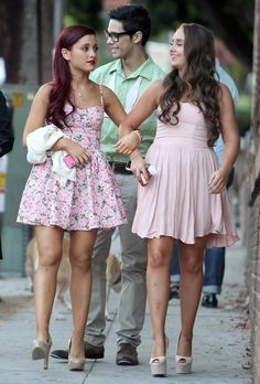 Ariana Grande media gallery on Coolspotters. See photos, videos, and links of Ariana Grande. Ariana Grande Body, Ariana Grande Outfits, Ariana Grande Pictures, Ariana Grande Birthday, Icarly, Yours Truly, Cat Valentine Outfits, Sam E Cat, Red Haired Actresses