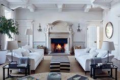 Case Study: Chrissie Rucker's Buckinghamshire Home Decor, Interior Design, White Decor, House Interior, Home, House, Room, White Houses, House Tours