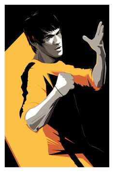 Cool Sci-Fi, Fantasy and Action Movie Art by Craig Drake — G.- Cool Sci-Fi, Fantasy and Action Movie Art by Craig Drake — GeekTyrant Craig-Drake-Bruce-Lee. Bruce Lee Art, Bruce Lee Quotes, Bruce Lee Poster, Bruce Lee Martial Arts, Kung Fu, Pop Art, Game Of Death, Culture Pop, Enter The Dragon