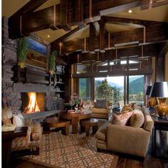 40 best lodge colors images home decor country homes cozy bedroom rh pinterest com