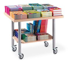 Mobile Display Table from Gaylord