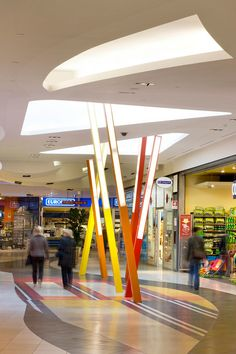 Valecenter, Venice, Italy   Vibrant refurbishment and repositioning of a shopping centre undertaken with minimal disruption to commercial activities./// by Broadway Malyan